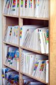 Medical record files — Stock Photo