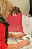 Hearing check for pre-school children — Stock Photo