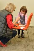 Controllo di visione per il bambino pre-scolare — Foto Stock