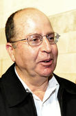 Israel Defense Minister -Moshe Ya'alon — Stock Photo