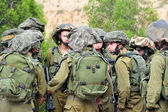 Israeli soldiers - IDF - Israeli military army — Stock Photo
