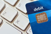 Internet purchase  and online shopping — Stock Photo