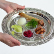 Passover Seder Plate — Stock Photo #51516037