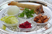 Passover Seder Plate  — Stock Photo