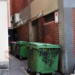 Trash disposal — Stockfoto