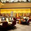 Study room in state library — Stock Photo