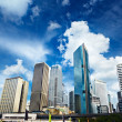 Stock Photo: CBD area