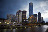 Melbourne riverside — Stock Photo