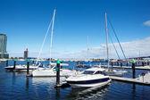 лодки — Стоковое фото