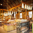 Candle factory — Stock Photo