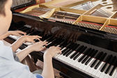 фортепианный дуэт — Стоковое фото