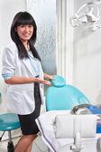 女性歯科医 — ストック写真