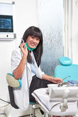 Female Dentist — Stock Photo