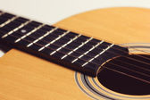 Close-up of classical guitar — Stock Photo