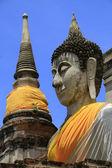 Sitting Buddhas images — Stock Photo