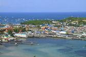 Beautiful view of Sea coast ,island — Stock Photo