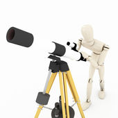 Sky watcher — Stock Photo