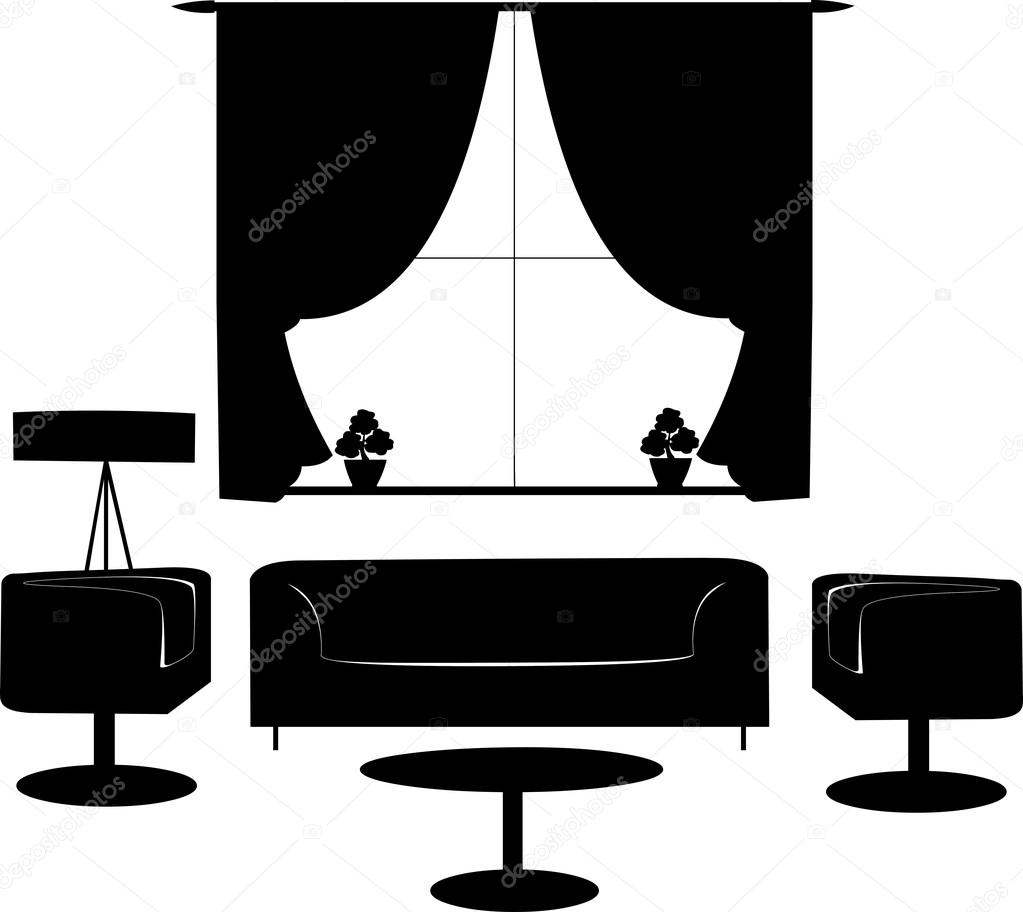 Silhouette Living Room