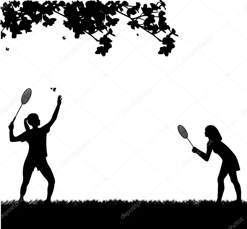 Badminton Players Girls Badminton Girls Players