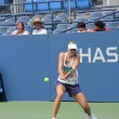 Постер, плакат: Four times Grand Slam champion Maria Sharapova practices for US Open at Louis Armstrong Stadium at Billie Jean King National Tennis Center
