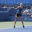 Grand Slam champion VictoriAzarenkpractices for US Open at Louis Armstrong Stadium at Billie JeKing National Tennis Center — Zdjęcie stockowe #20245625