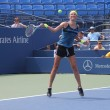 Grand Slam champion Victoria Azarenka practices for US Open at Louis Armstrong Stadium at Billie Jean King National Tennis Center — Stock Photo #20245625