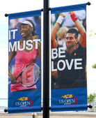 Billie Jean King National Tennis Center ready for US open tournament — Stock Photo