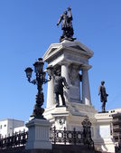 Monument to the Heroes of Iquique, Valparaiso, Chile — Stock Photo