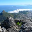 Lions Head and Cape Town, South Africa, view from the top of Table Mountain. - ストック写真
