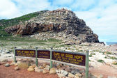 Cape of Good Hope, the most South-Western point of African continent — Stock Photo