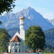 Royalty-Free Stock Photo: St  Coloman Church, Near Fussen, Bavaria, Germany
