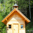 Small wooden church in Austrian Alps — Stock Photo