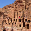 The Royal Tombs in Petra, Jordan — Stock Photo
