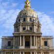 Royalty-Free Stock Photo: Les Invalides in Paris,  chapel Saint Louis des Invalides
