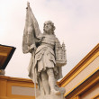 Statue of Leopold II in Melk Abbey, lower Austria — Stock Photo