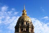 Les Invalides in Paris, detail of chapel Saint Louis des Invalides — Stock fotografie