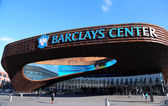 Newest sport arena Barclays center in Brooklyn, New York — Stock Photo