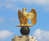 Golden Napoleon Eagle — Stock Photo