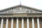 Assemblee Nationale Palais Bourbon - the French Parliament — Stock Photo