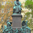 ������, ������: Ludwig van Beethoven statue in Vienna Austria It was unveiled in 1880