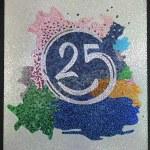 Number twenty five — Stock Photo