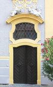 Piękne dürnstein opactwa, detale architektoniczne — Zdjęcie stockowe