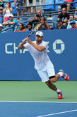Grand Slam champion Andy Roddick practices for US Open at Billie Jean King National Tennis Center — Stock Photo