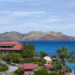 Постер, плакат: The beautiful Eden Rock hotel at St Barth French West Indies