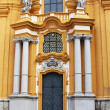 melk abbey church details in lower austria — Stock Photo