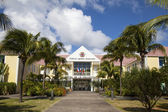 Hotel de la Collective, former Town Hall at St Barth, French West Indies — Stock Photo