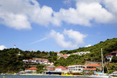 Gustavia Harbor, St. Barths, French West Indies — Stock Photo