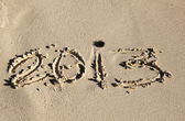 Welcome 2013 — Stock Photo