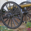 12-pounder Napoleon cannon, model of 1857 - Stock Photo