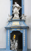 Statue in Durnstein abbey, Lower Austria — Stock Photo